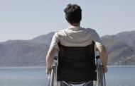 La espalda sufre en silla de ruedas